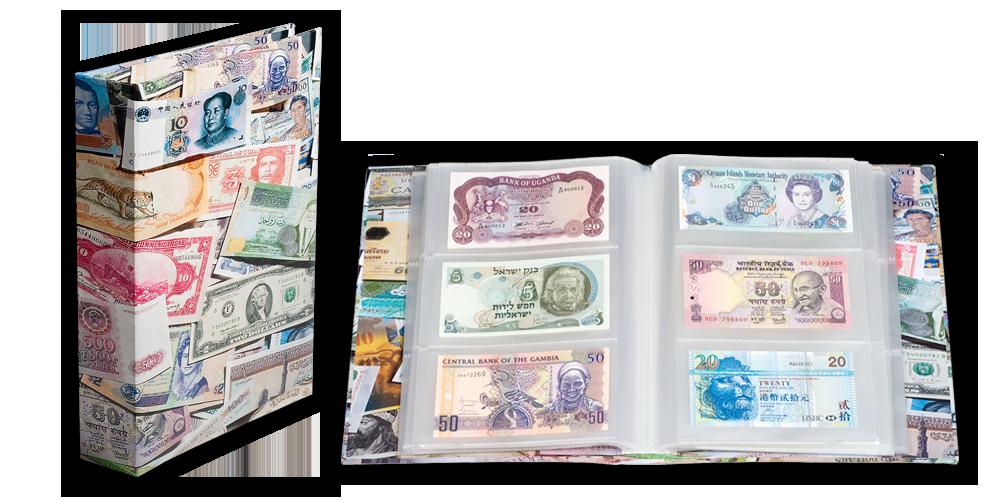 Sběratelské album BILLS na 300 bankovek