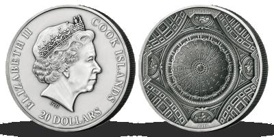 Stříbrná mince - Bazilika sv. Petra, 100 g, 2016