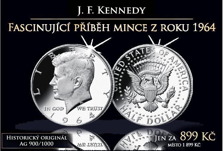 Fascinující příběh mince z roku 1964