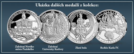Ukázka dalších medailí z kolekce