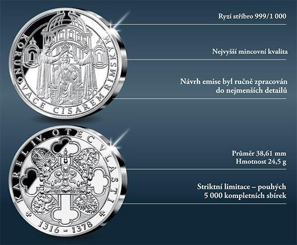 První medaile Narození Karla IV.