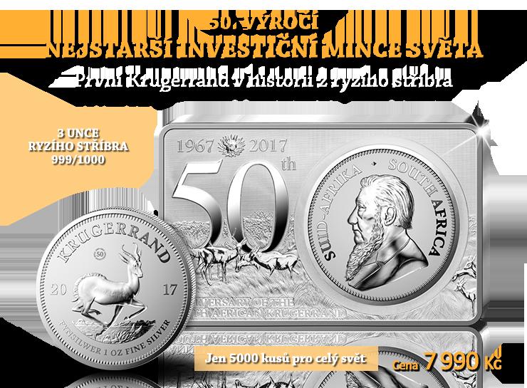 50. výročí nejstarší investiční mince světa