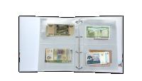 Světové měny - album plné bankovek z 50 zemí