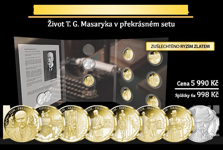 Život T. G. Masaryka v překrásném setu