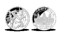 Stříbrná mince Tokyo: Countdown 3