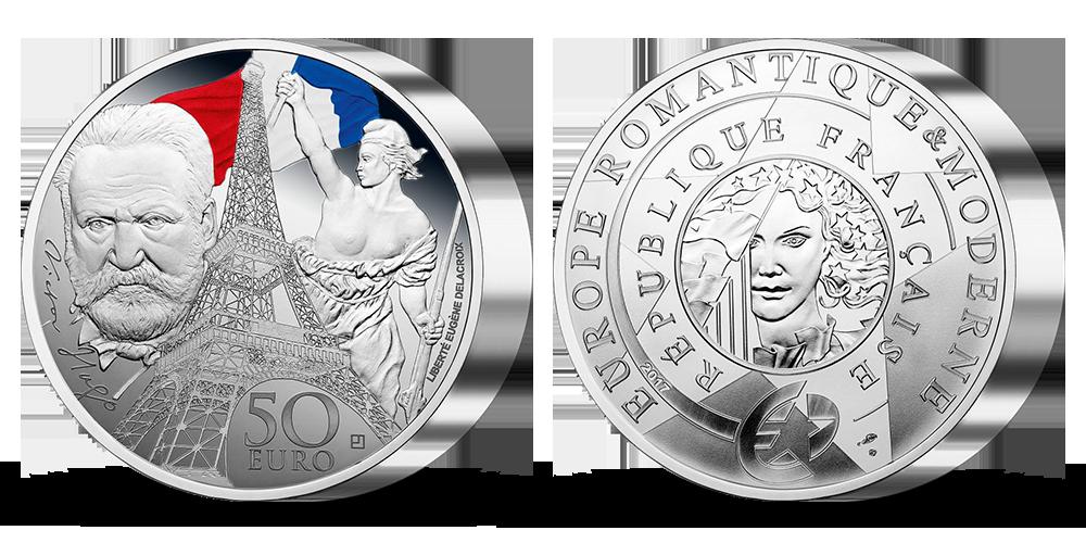 Viktor Hugo - Poklady Paříže na stříbrné minci
