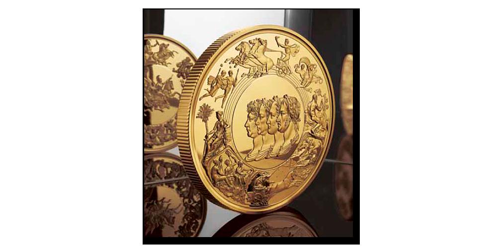 Legenda numismatiky zušlechtěna ryzím zlatem