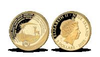 Vánoční mince v 1/10 oz ryzího zlata ve velmi nízké limitaci