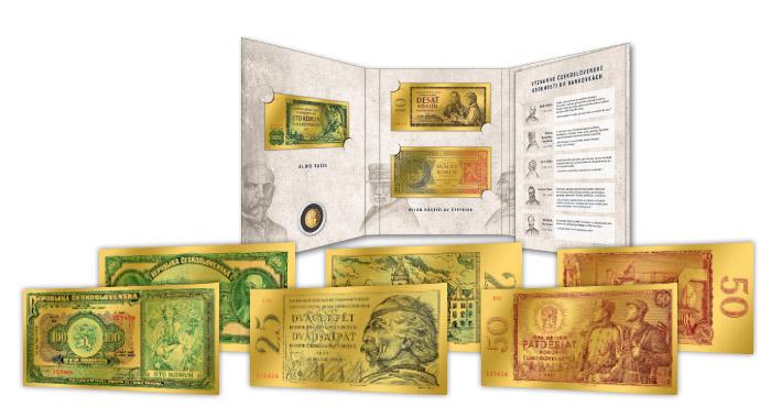 Všechny zlaté repliky si budete uchovat v obdrženém zakladači