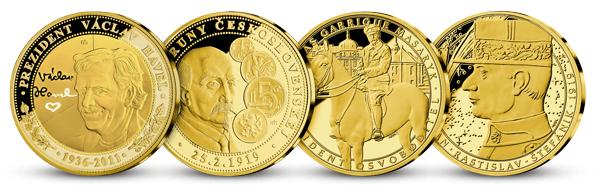 Ukázka dalších medailí v kolekci