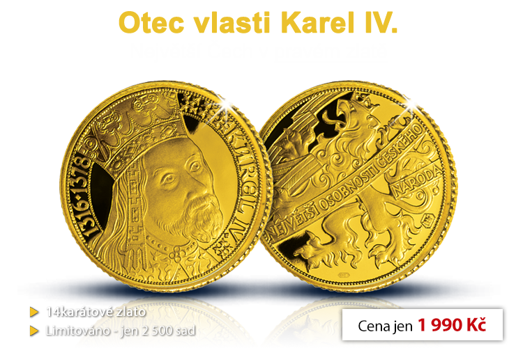 Otec vlasti Karel IV.