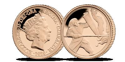 Zlatý Quarter Sovereign 2020 s unikátním výjevem sv. Jiří | Quarter Sovereign 1/4 2020