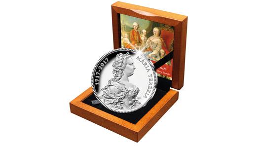 Národní Pokladnice uctí 300. výročí Marie Terezie stříbrnou pamětní medailí!…